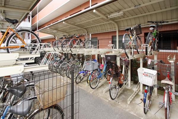 自転車の 津田沼 自転車置き場 : ラック式自転車置き場は、合計 ...