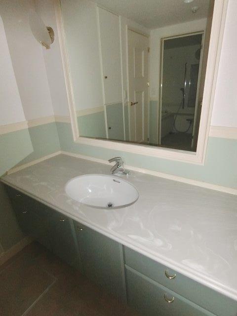 画像8:洗面所